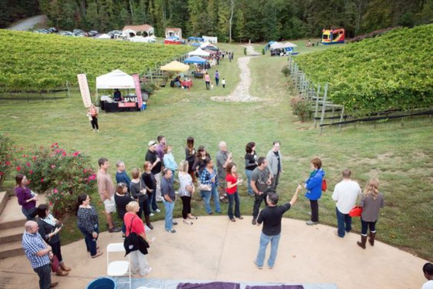 Potomac Point Winery Harvest Festival 2016
