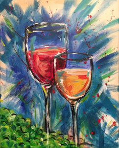 Paint n Sip event