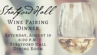 Wine Pairing Dinner at Stratford Hall