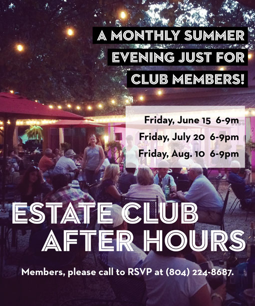 Estate Club After Hours graphic